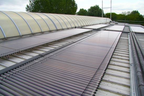 Kingspan Solar Thermal Systems Warm Abbey Pools Kingspan Environmental Esi Building Services
