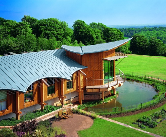 Dorothy House Hospice Double Standing Seam Roofing