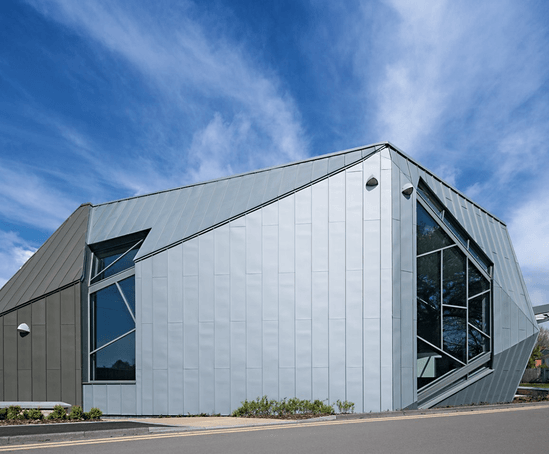 Cladding And Standing Seam Roof Diploma Learning Centre