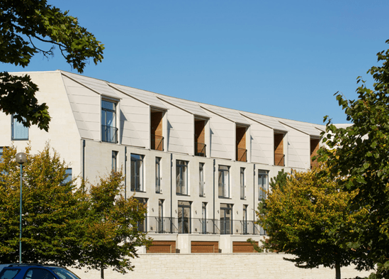 RHEINZINK artCOLOR facade (image copyright Paul Riddle)
