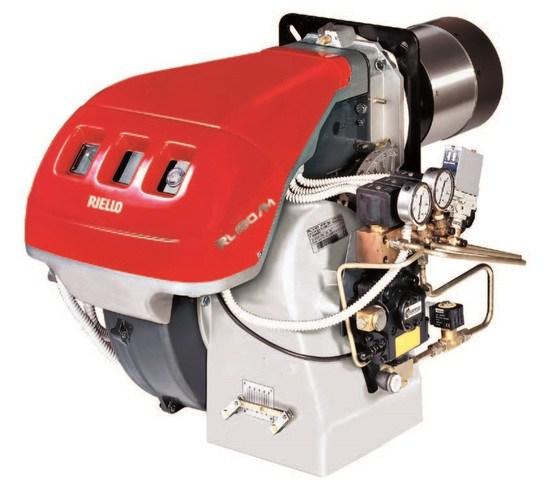 RL/M series modulating light oil burner