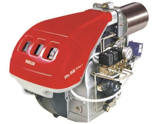 RL/M BLU series low NOx modulating light oil burner