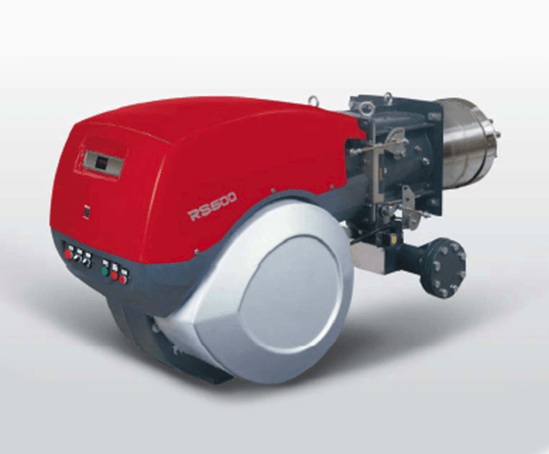 M BLU series low NOx modulating gas burner