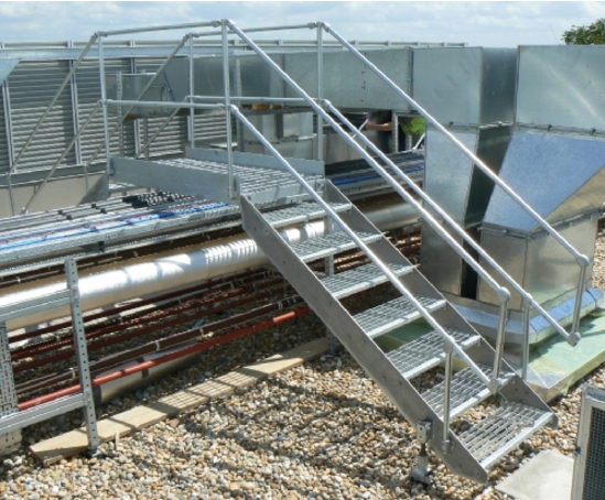 Access Solutions For Flat Roofs Step Overs Amp Platforms
