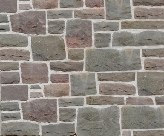 Local random walling stone
