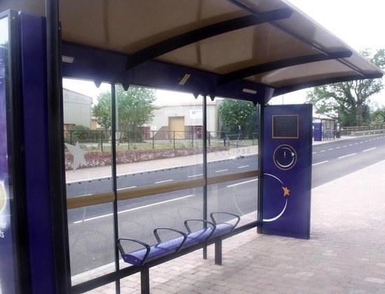 Modular Shelter Systems : Bus rapid transit brt bespoke modular shelter system