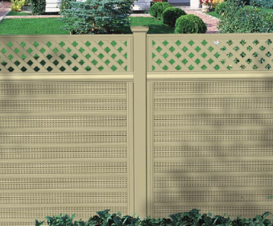Royal Acoustic Plastic Fencing Residentiel Vinyl
