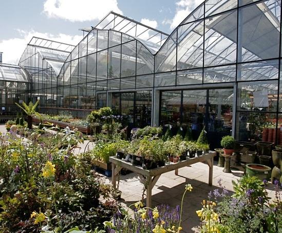 Garden Centre: Underfloor Heating, Garden Centre, Powerscourt, Ireland