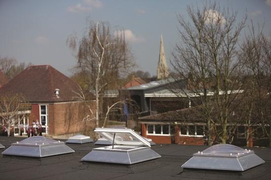 Em Dome 174 And Em Dome Eco Modular Rooflights Whitesales