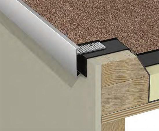 T Trim Aluminium Flat Roof Edge Trims Whitesales
