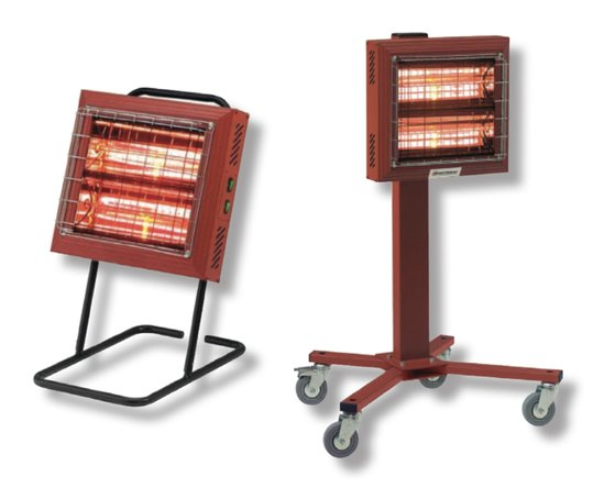 Titan Quartz Glow electric radiant heaters