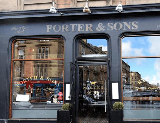 Porter and Rye restaurant