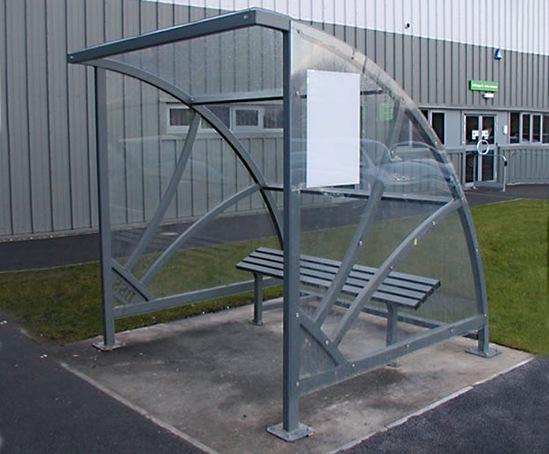 Smoking Shelters Product : Mayfair smoking shelter bailey streetscene esi