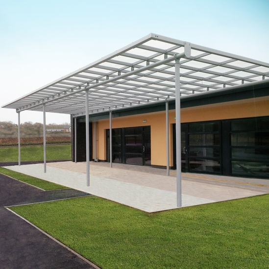 Lawley Village Primary School - outdoor canopy