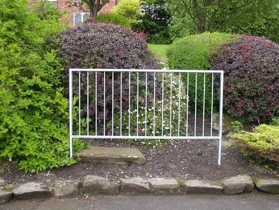 Steel Pedestrian Guardrail