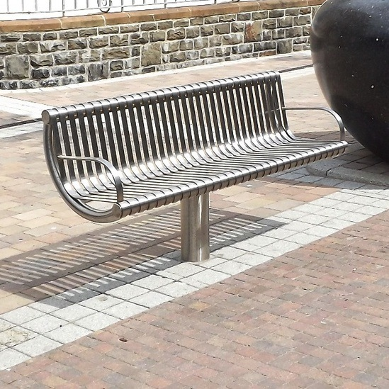 Orion Stainless Steel Seat
