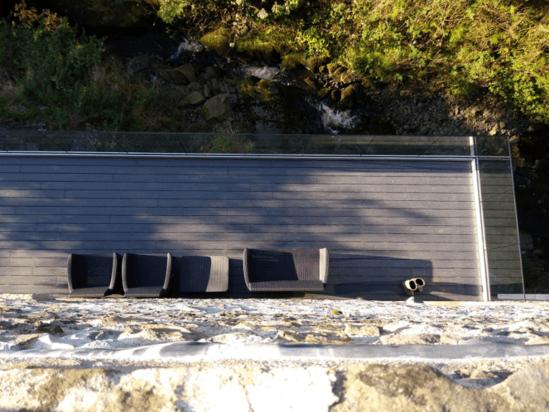 Heritage composite decking boards