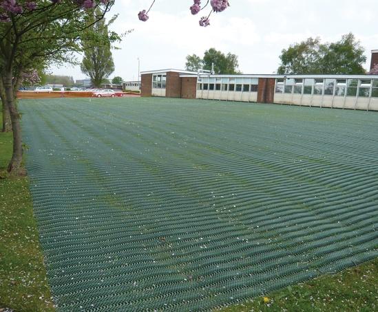 GrassProtecta® overflow carpark, Hereford College