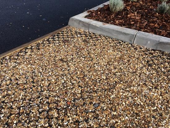 Drainage Gravel Cell : Terram bodpave cellular porous pavers