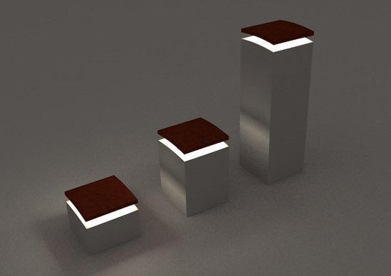 Larus Sueste illuminated bollards