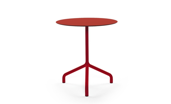 Ribaltino folding, stackable table