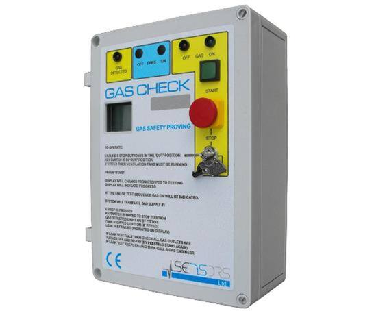 PGF 10 gas safety proving unit