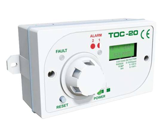 TOC 20 refrigerant gas monitor