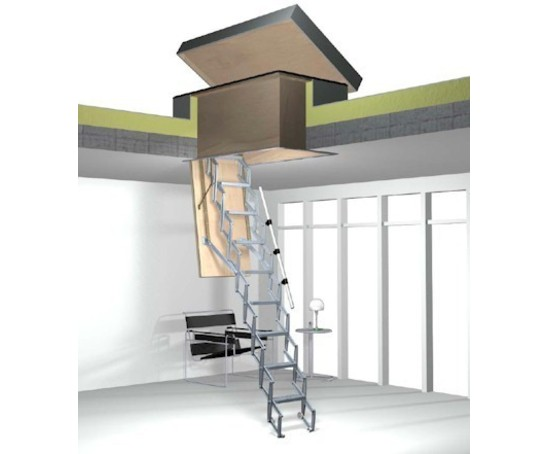 Supreme stairway with weatherproof roof hatch  sc 1 st  ESI Building Design & Supreme stairway with weatherproof roof hatch | Premier Loft Ladders ...