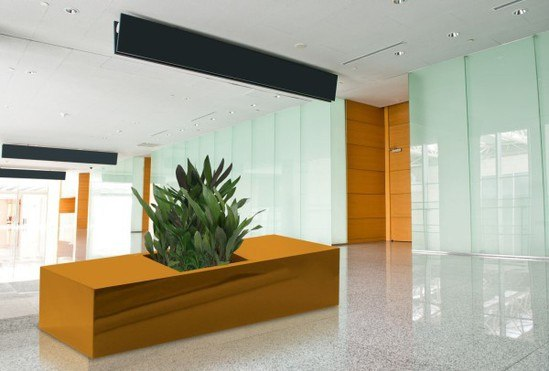 Barrier seating and planter