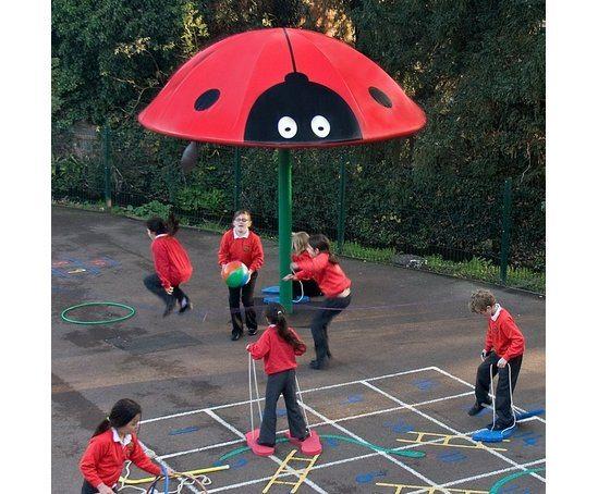 Creature Canopies - Ladybird playtime