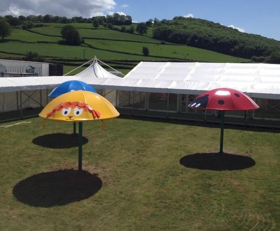 Creature Canopies - Hay Festival