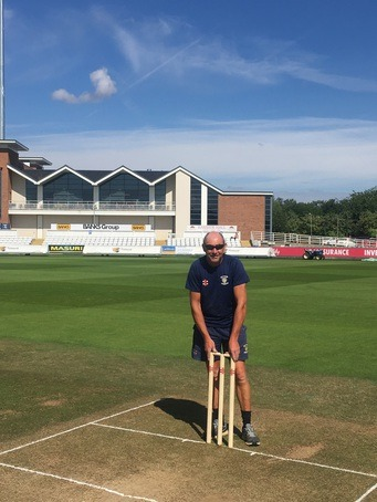 Vic Demain at Durham CCC