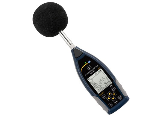 PCE-432 Class 1 datalogging decibel meter with GPS
