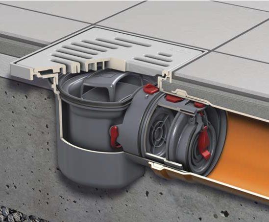 basement floor drain backflow preventer
