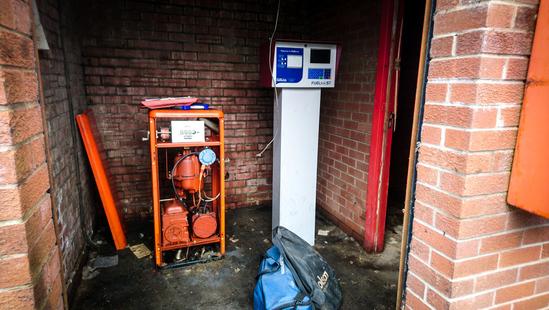 On-site diesel pump