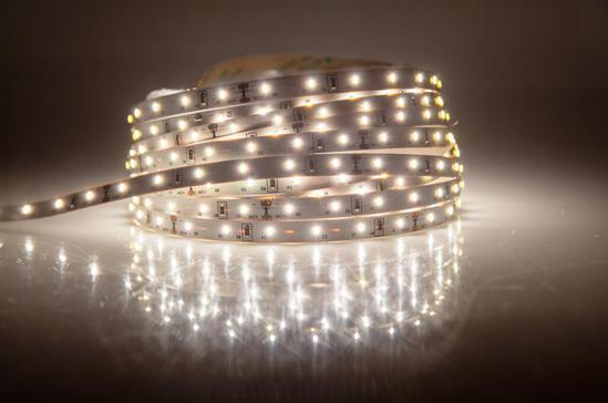 LED tapes provide a glowing ambiance