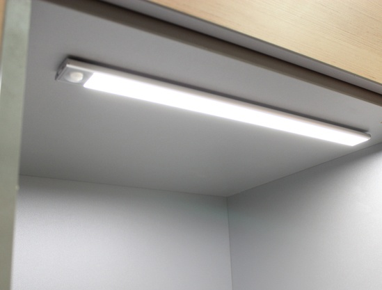 C01-2045ANNW slim bar light for internal storage spaces