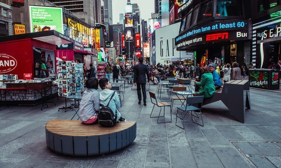Modular STRIPES benches