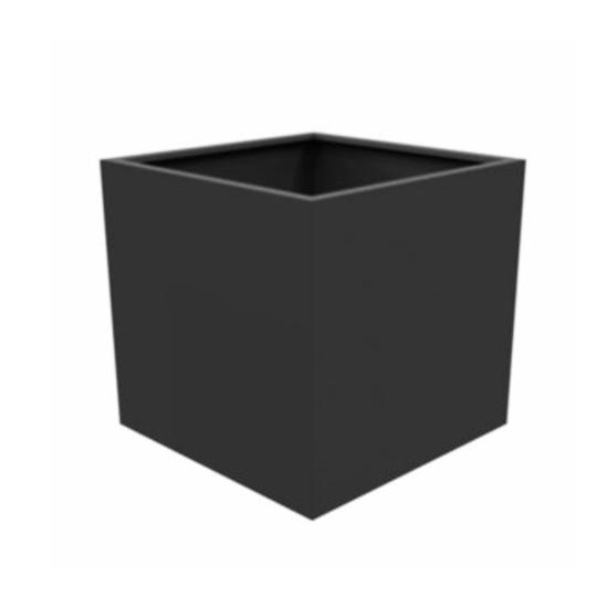 Cube Planters: Aluminium Florida Cube Planter