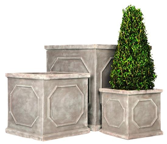 Fibrestone chelsea box planter