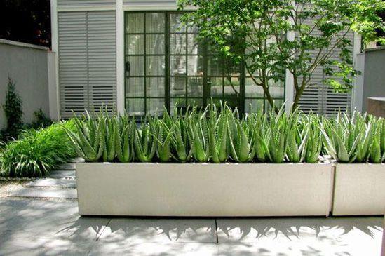 Aluminium Florida Trough Planter Pot Company Esi
