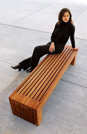 Palisade Bench Artform Urban Furniture Esi External Works