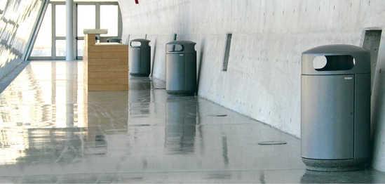Halls Interior Litter Bin