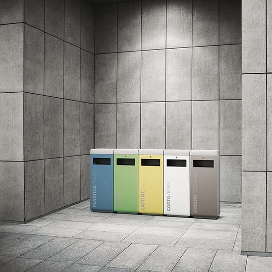 Ecoside Interior Recycling Bin