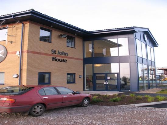 Modular soffit system - healthcare building, Bridgwater