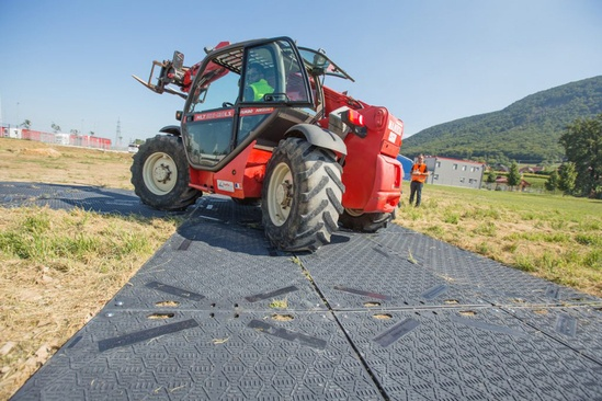 IsoTrack L ground protection mat