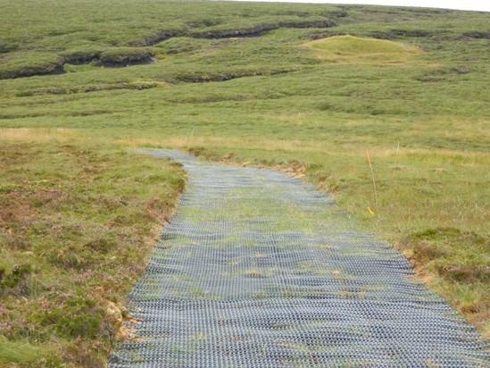 Moorland Mesh heavy-duty reinforcement mesh for access