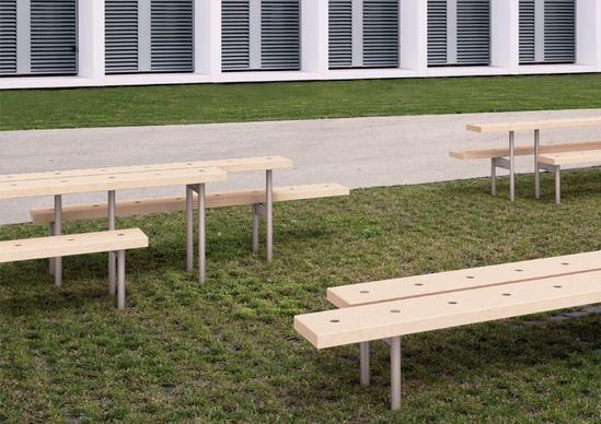 Urbidermis - Rai urban bench