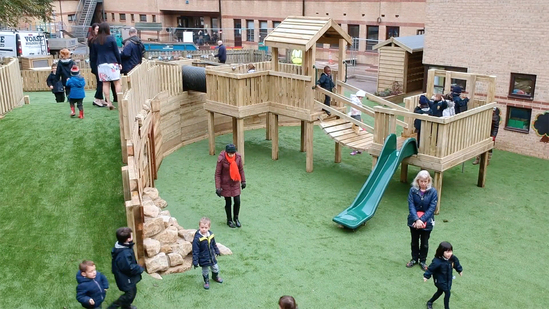 Playground design by Timotay Playscapes
