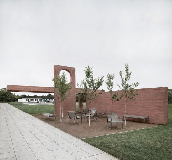 Preva Urbana seating at The Respite Pavilion